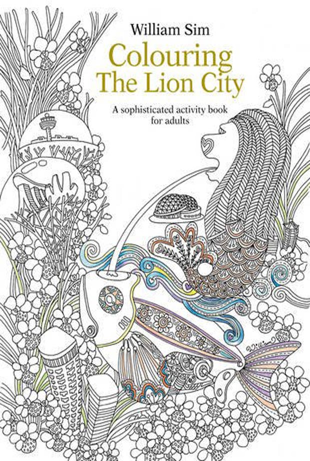 Colouring The Lion City