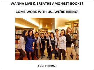 Career Opportunities | Books Kinokuniya