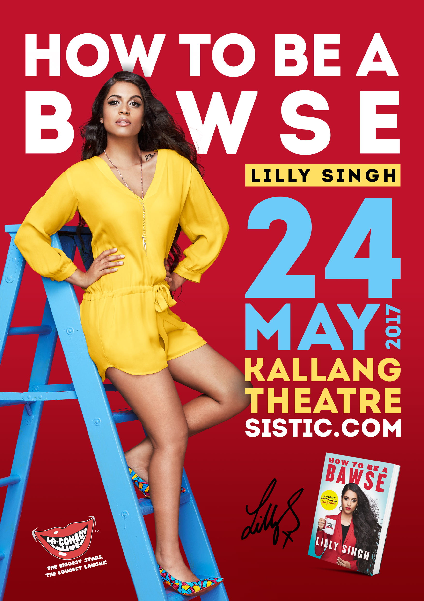 How To Be A Bawse '�  Lilly Singh Books Kinokuniya How To Be A Model Elite  Copenhagen